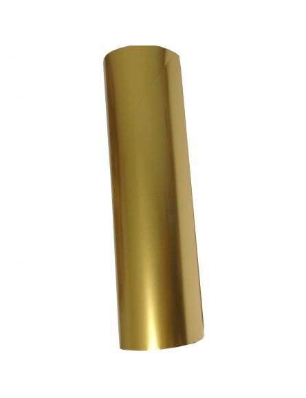 Película para gravação 30cm x 122 mts - Cor Dourada