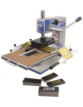 Máquina de Gravação Hot Print Capa Dura